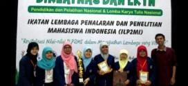 UKM Penelitian UNY Juara II LKTN DIKLATNAS ILP2MI 2015