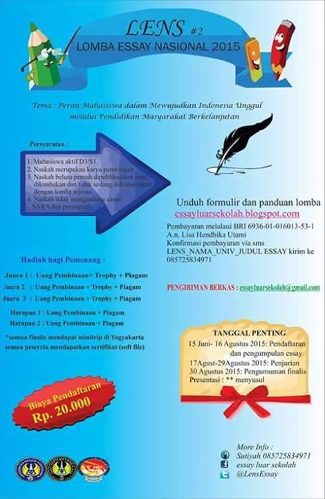 LENS #2Lomba Essay Nasional