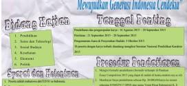 Essay Competition 2015 (Tingkat Nasional) – HASKA JMF UNY