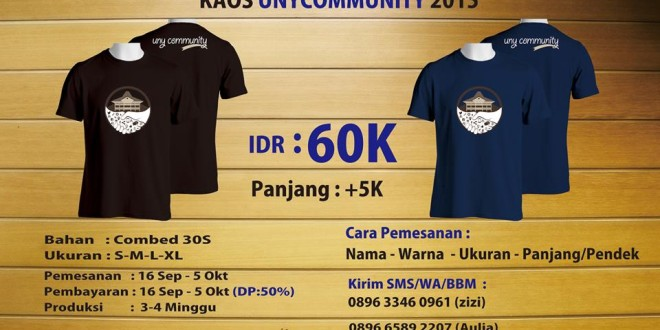 Kaos UNY COMMUNITY
