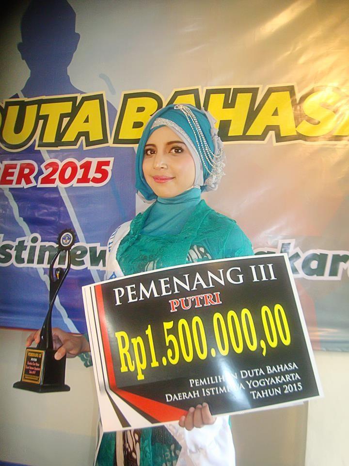 Mahasiswa PGSD Kampus III UNY Sabet Juara III Duta Bahasa Yogyakarta
