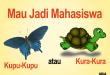 mahasiswa kupu-kupu