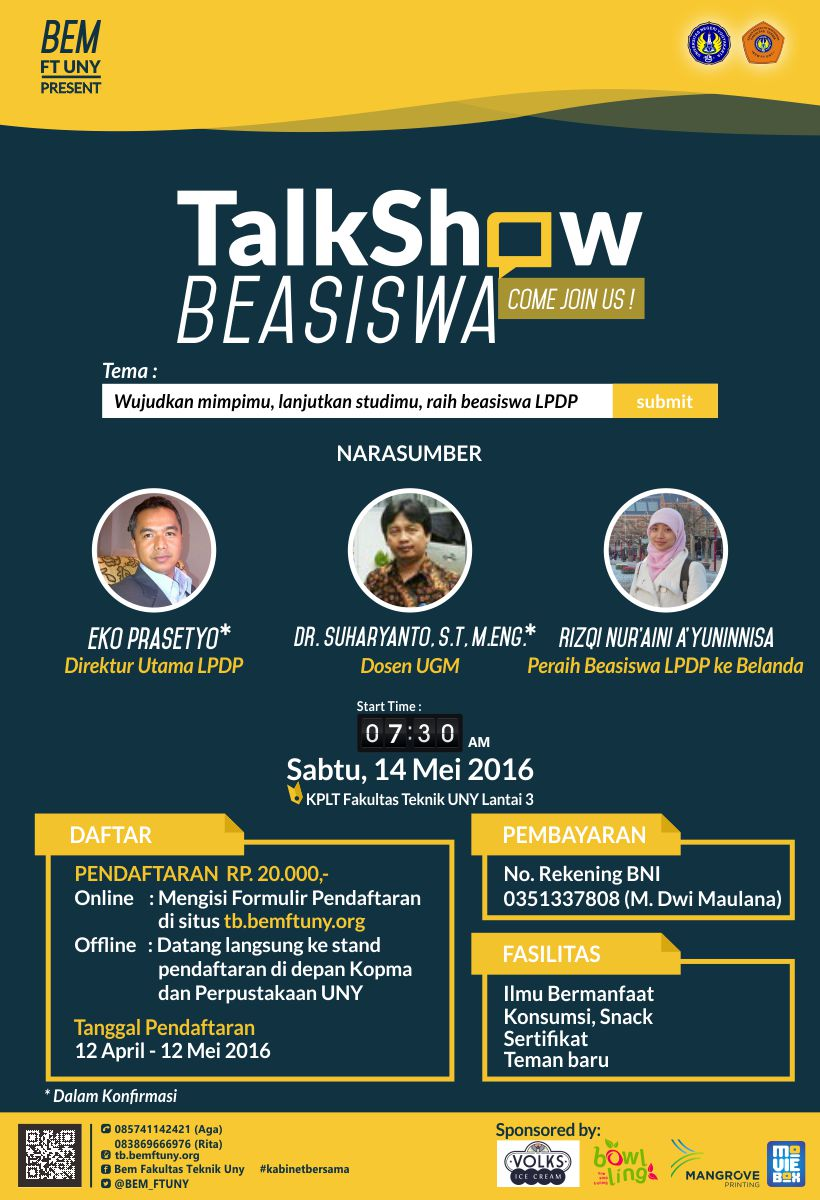 Talkshow Beasiswa LPDP