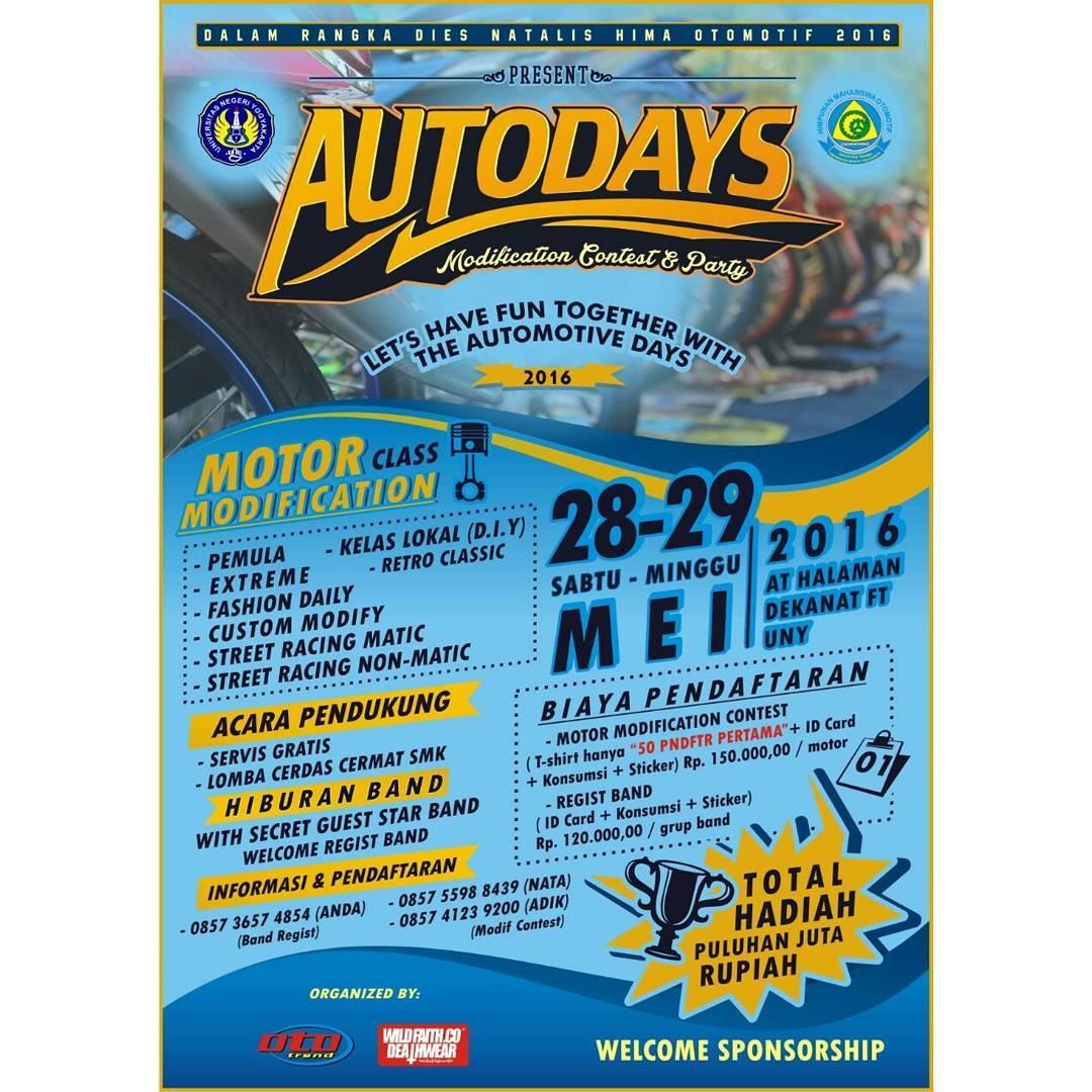 AUTODAYS Modification Contest & Party