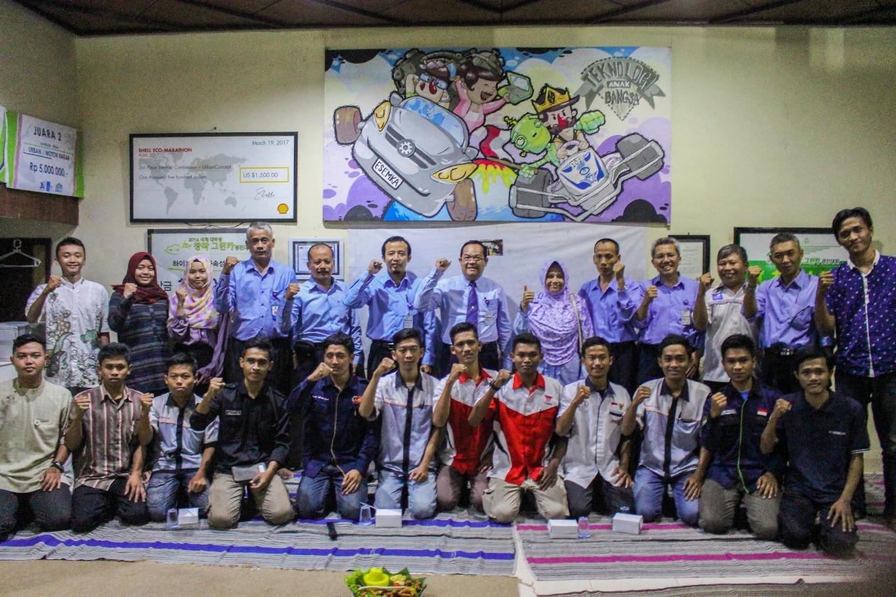 Exhibition Shell Yoga : Sambut sema garuda uny team adakan doa bersama