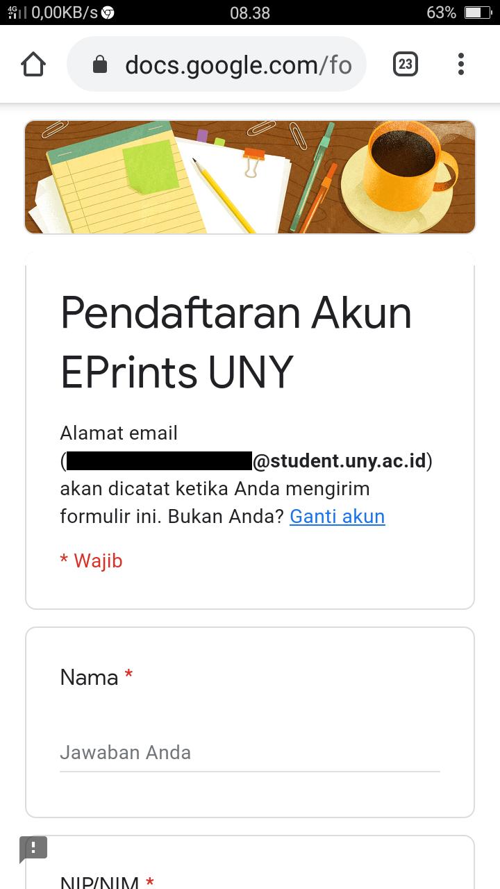 Cara Download Skripsi Dan Jurnal Di E Prints Uny Uny Community